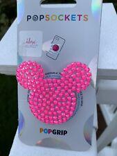 NEW Bling Rhinestone PopSocket Disney Inspired Mouse Swarovski Elements iPhone