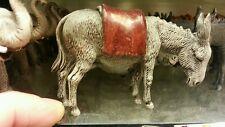1 asino mulo  animali per  pastori landi 10 12 cm presepe crib shereped