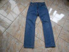 H0546 Levis 505 Jeans W27 Mittelblau ohne Muster