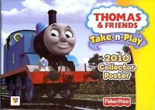 Thomas the Tank Engine & Friends Take N Play Fisher Price 2010 poster catalogue