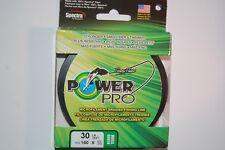 power pro fishing line braid 30lb 150yd spool moss green spectra fiber braided