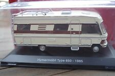 CAMPING CAR HACHETTE / IXO MERCEDES HYMERMOBIL TYPE 650 1985 COMME NEUF EN BOITE