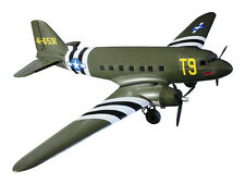 Dynam C47 Dakota Twin Engine RAF Military Transport 1470MM ARTF no Tx/Rx/Battery