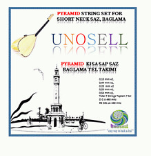UNOSELL: PYRAMID STRING SET FOR TURKISH STRING INSTRUMENT SHORT NECK SAZ 0.18MM