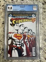 Superman #14 multiplicity part one , Rebirth CGC 9.8