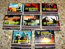 MARLBORO UNLIMITED SWEEPSTAKES 8 BOOK MATCHES 1995 GET ON BOARD L@@K