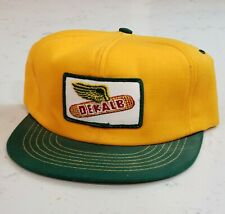 Vintage DEKALB Snapback Trucker Hat Patch Cap Made in the USA