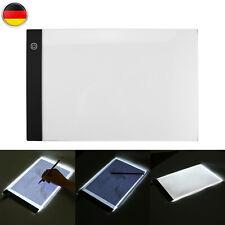 A4 Einstellbar Helligkeit LED Lichttisch Lightpad Box Leuchttablet Tracing Pad