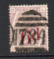 Great Britain Victoria 6d on 6d c1883 Used Stamp (2724)