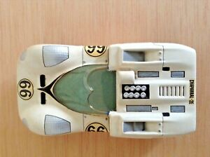Cox 1/24 Scale Chassis with Lancer Chaparral 2E Body Shell