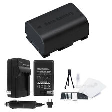 BN-VG114 Battery + Charger for JVC Everio Camcorders