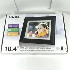 "COBY 10.4"" Digital Picture Frame DP1052 USB Thumb Drive incl."