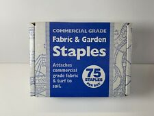 Fabric & Garden Staples Attaches Commercial Grade Fabric Turf to Soil 75 Staple