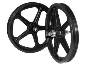 "Skyway BMX Wheelset - Tuff II S/B - 5 Spoke - 16"" x 1.75"" - Black"