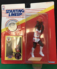 1991 Starting Lineup NBA Basketball Michael Jordan Unopened w/ Coin