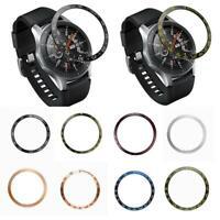 For Samsung Galaxy Watch 46MM Bezel Ring Adhesive Cover Metal Scratch Anti U5B1