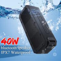 Portable Wireless bluetooth Speaker Bass Stereo Subwoofer Loudspeakers Waterpoof