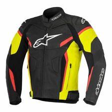 Alpinestars GP Plus R V2 Motorcycle Leather Jacket - Yellow / Black / Red