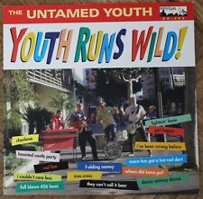 "The Untamed Youth ‎– Youth Runs Wild! 12"" LP Surf Garage Norton Records"