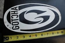 New listing Gotcha Large G Logo Surfboards Rare Vintage Surfing Sticker