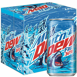 mountain dew frost bite drinking cans (12oz) 355ml (pack of 24)BBF 13.09.2021
