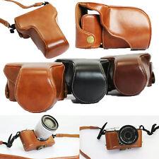 PU Leather Camera case bag Strap for Fujifilm Fuji X-M1 X-A1 X-A2 XM1 XA1 XA2F