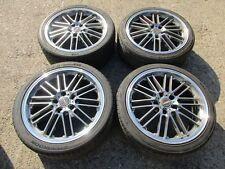Borbet CW2 Alufelgen Felgen BMW 3er E36 8,5x18 ET30 225/40 255/35 ZR18 LK 5x120