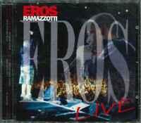 """EROS RAMAZZOTTI """"Eros Live"""" CD-Album"""