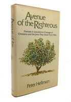 Peter Hellman AVENUE OF THE RIGHTEOUS  1st Edition 1st Printing