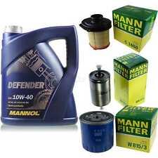 Motor-Öl 5L MANNOL Defender 10W-40 +MANN-FILTER Filterpaket Citroën C15 VD-_ 1.1