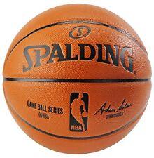 NEW Spalding NBA Replica Indoor Outdoor Game Ball Orange Size 7 29.5 Inch