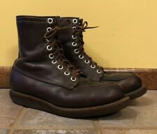 07b77a7b96a7a Vtg JC Penny FOREMOST USA Work Hunting Boots Excellent Condition Men s 8