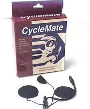 CycleMate Hands Free Headset for Full Face Helmet Use Cell 2 Way Radios K-015M