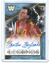 WWE Brutus Beefcake 2017 Topps Legends Authentic Autograph Card SN 100 of 199