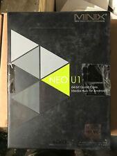 PC MiniX Neo U1 Android 4K Ultra HD Mini-PC, 64-bit Quad-Core CPU, Streaming