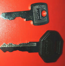 Key Set 92274 Dumper key & Black Bosch JCB Master 14603 14607 14657 14707 great