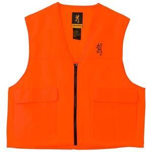 Browning Safety Vest Blaze Orange Large