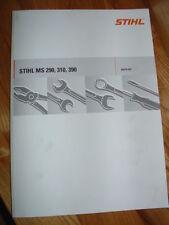 Reparaturanleitung für Stihl MS 290, 310, 390 + Teilelisten
