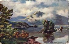 Colleen Bawn Rock,Killarney (with a couple in row boat)1905-R.Tuck 7137