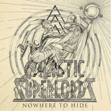 "GALACTIC SUPERLORDS - NOWHERE TO HIDE, ORG 2017 MARBLED vinyl 7"", 40 COPIES! NEW"