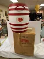 Vintage RARE Dr. Pepper Route 66 Cooler in Original Box GAS OIL SODA COLA