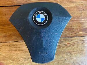 #2007-2010 BMW 530i LEFT DRIVER STEERING WHEEL AIRBAG OEM