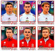 6 Sammelbilder / Euro 2012 (Panini)