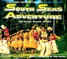 SOUTH SEAS ADVENTURE CD ALEX NORTH SOUNDTRACK SOLD OUT Digipack