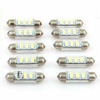 10x Innenraumbeleuchtung LED Lampe Auto KFZ 39mm SMD Innenraum Leuchte Soffitte