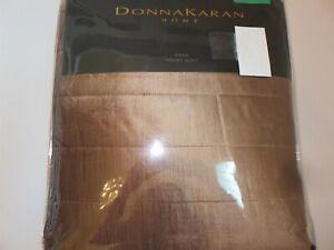Donna Karan Awakening Lush Velvet Collection King Quilt Cappuccino Bronze $625