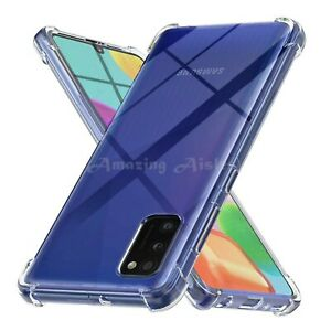 Clear Silicone Case For Samsung A11 A21s A41 A51 A71 A81 Shockproof Gel Cover
