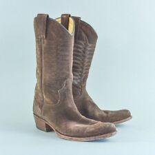 Vintage Sendra Brown Suede Leather Cowboy Boots Men's UK 7.5 EU 41.5 US 8.5