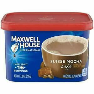 Maxwell House International Cafe Suisse Mocha Instant Coffee (7.2 oz Pack of 4)