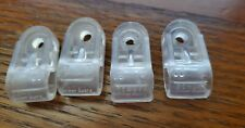 Used Schutt Football Helmet Facemask clips dated 1999/2000 perfect 4 restoration
